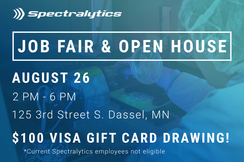 Spectralytics Job Fair August 26, 2021