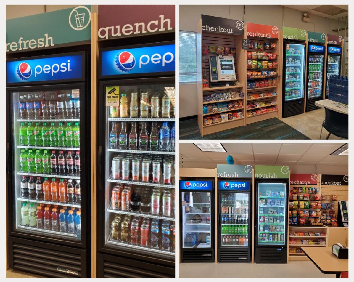 Bernick's Micromarket in Spectralytics Dassel Facility